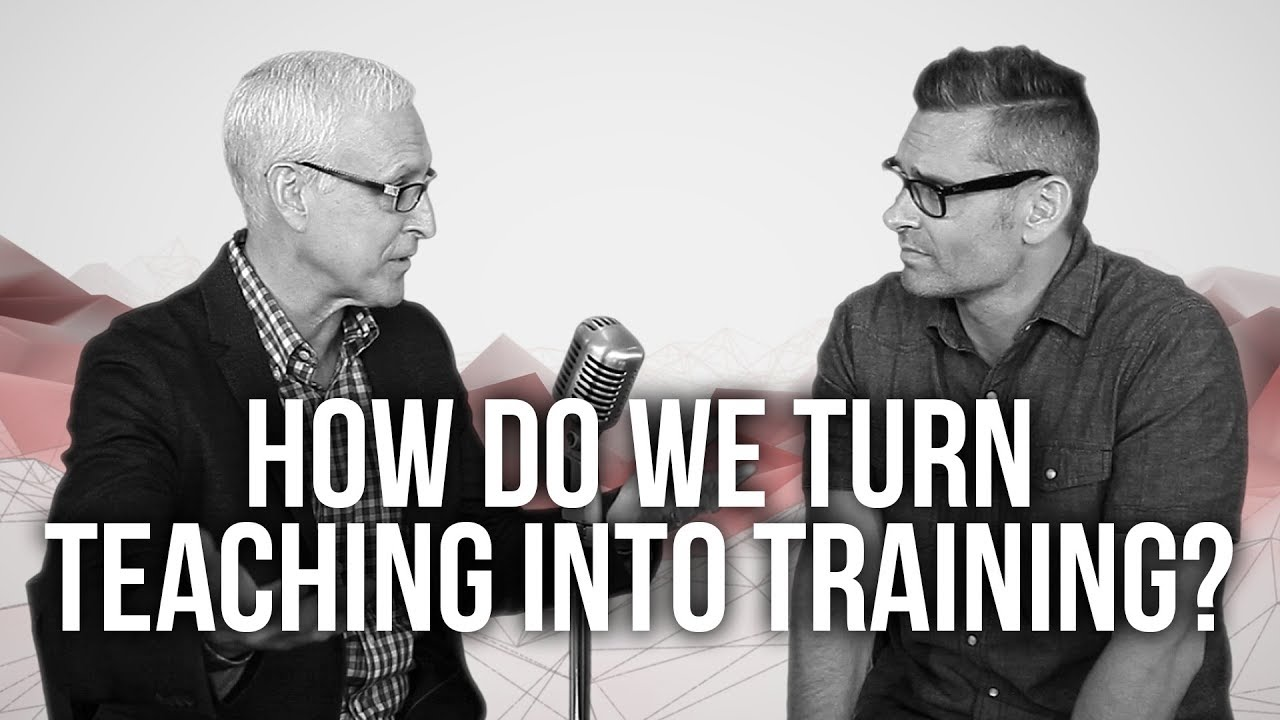 982.-How-Do-We-Turn-Teaching-Into-Training