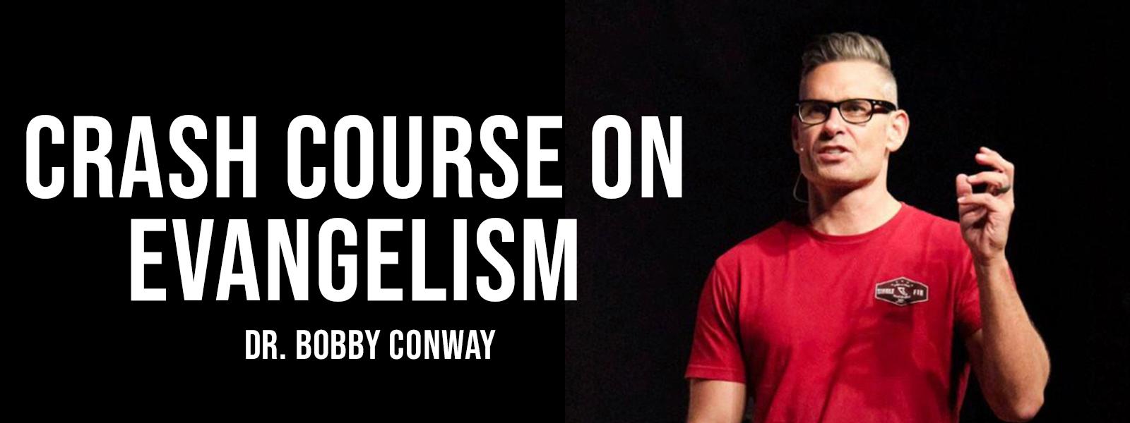 Crash Course On Evangelism Banner